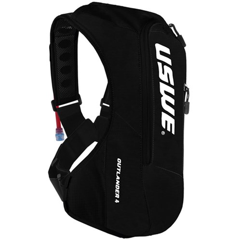 USWE 19 OUTLANDER 4 PACK 2.5/3.0L SHAPE SHIFT BLACK HYDRATION BAG