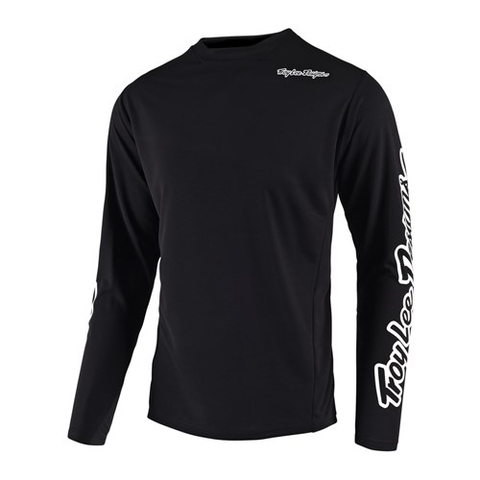 TROY LEE DESIGNS '19 YOUTH SPRINT LS JERSEY BLACK