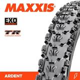 "MAXXIS ARDENT 27.5 X 2.40"" TR EXO FOLD TYRE"