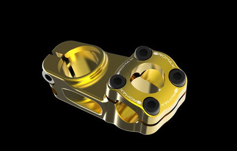 "PROMAX IMPACT 1-1/8"" 53MM TOP LOAD GOLD STEM"