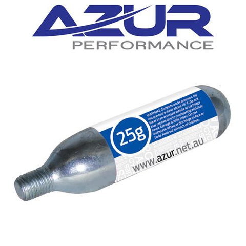 AZUR CO2 25 GRAM THREADED AIR CARTRIDGE