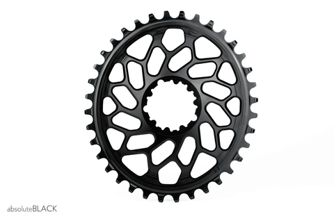 ABSOLUTE BLACK OVAL SRAM XX1 DIRECT MOUNT 36T BLACK (CYCLO-X) CHAINRING