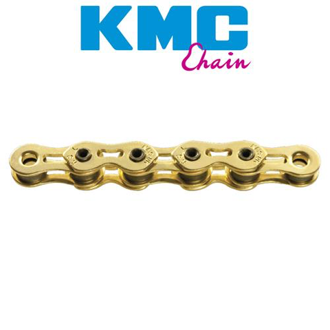 "KMC K810SL 1/2X3/32"" SINGLE SPEED 112L GOLD"