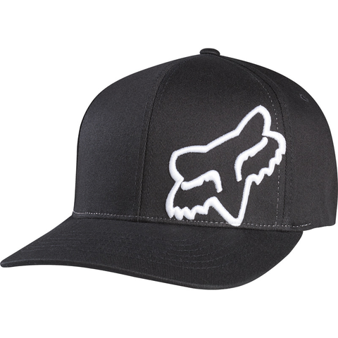 FOX HAT FLEX 45 FF BLACK/WHITE L/XL
