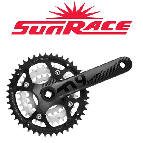 SUNRACE FC-914 175MM 44/32/22T SQUARE TAPER CRANKSET