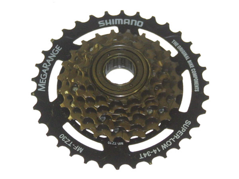 SHIMANO MF-TZ30 6 SPEED 14-34 MEGA RANGE FREEWHEEL