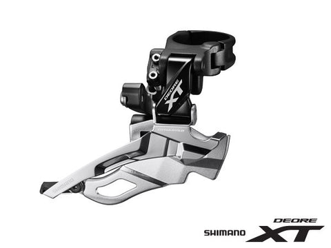SHIMANO XT FD-M8000 3x11 SIDE-SWING (for 40T) HI-CLAMP FRONT DERAILLEUR