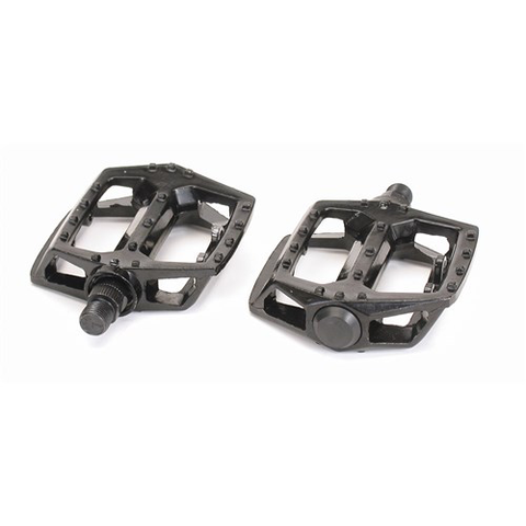 "VP-565 BMX ALLOY 1/2"" AXLE BLACK PEDALS"