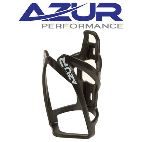 AZUR BOTTLE CAGE PLASTIC BLACK