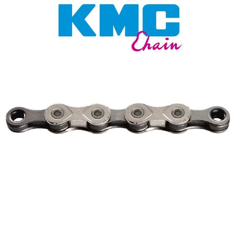 KMC X10 10 SPEED X SERIES CHAIN 116L SILVER GREY
