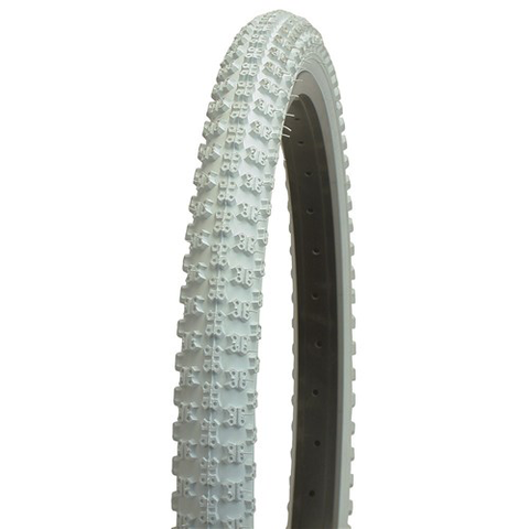 "CST BMX COMP III COPY 20 X 2.125"" WHITE TYRE"
