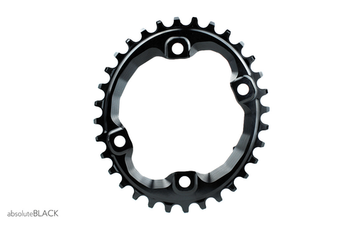 ABSOLUTE BLACK OVAL SHIMANO XT M8000 32T BLACK CHAINRING