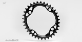 ABSOLUTE BLACK OVAL 4 BOLT 104 CHAINRING
