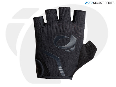 PEARL IZUMI SELECT FINGERLESS BLACK GLOVES