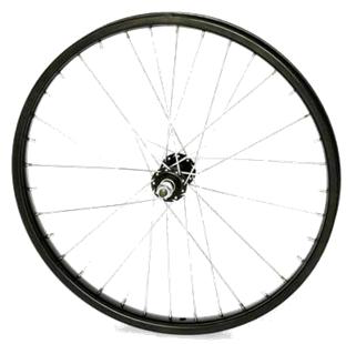 "VERDE REGENT 36H SEALED BLACK 20"" FRONT WHEEL"