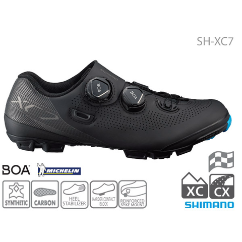 SHIMANO SH-XC701 SPD BLACK MTB/XC SHOES