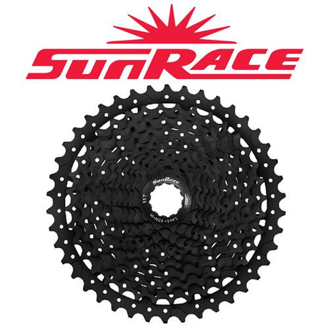 SUNRACE MS8 11 SPEED 11-40T BLACK CASSETTE