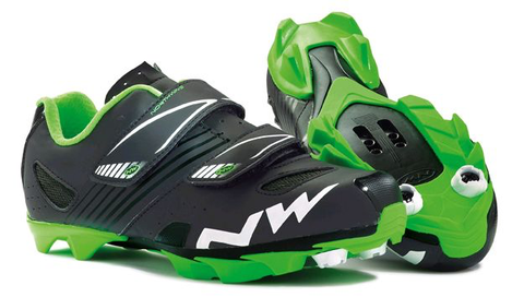 NORTHWAVE HAMMER JUNIOR BLACK GREEN SHOES