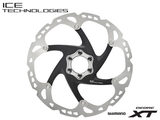 SHIMANO XT SM-RT86 160MM 6 BOLT ICE TECH DISC BRAKE ROTOR