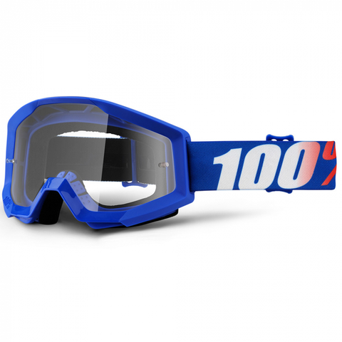 100% GOGGLES STRATA CLEAR LENS NATION