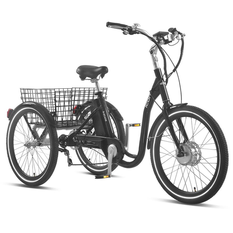 "XDS ICON E-SCAPE 24"" 7-SPEED E-TRIKE GREY"