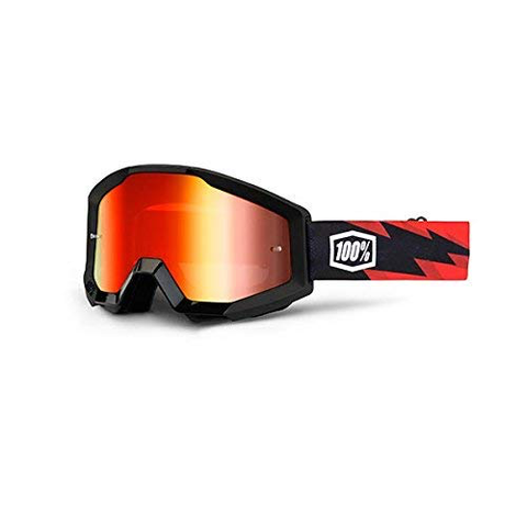 100% GOGGLES STRATA MIRROR LENS SLASH