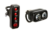 KNOG BLINDER ROAD 250/70 LUMENS LIGHT SET BLACK