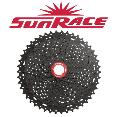 SUNRACE MX8 11 SPEED 11-46T BLACK CASSETTE