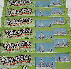 TRAIL-GATOR THE BICYCLE TOW BAR