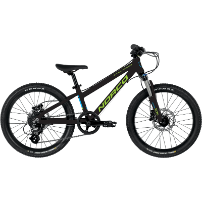 "NORCO '19 YOUTH 20"" CHARGER BLACK/GREEN"