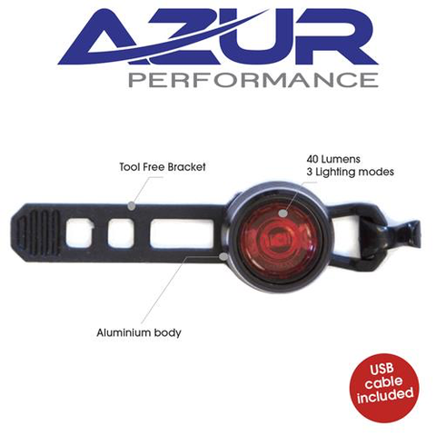 AZUR LIGHT CYCLOPS USB TAIL LIGHT