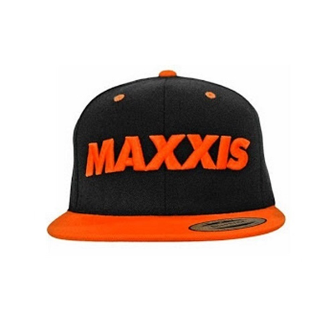 MAXXIS HAT SNAPBACK BLACK/ORANGE