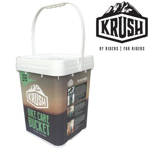 KRUSH PRO BIKE DETAILING BUCKET