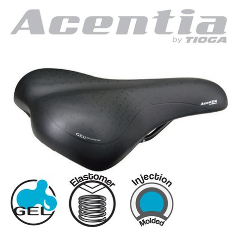 ACENTIA PAX SADDLE BLACK BY TIOGA