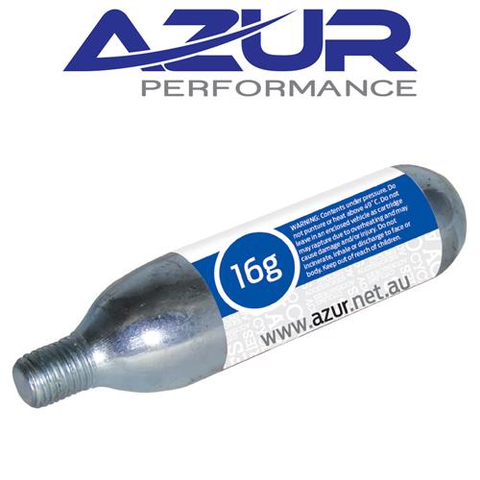AZUR CO2 16 GRAM AIR CARTRIDGE THREADED