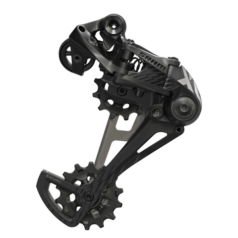 SRAM XO1 12 SPEED EAGLE BLACK TYPE 2.1 REAR DERAILLEUR