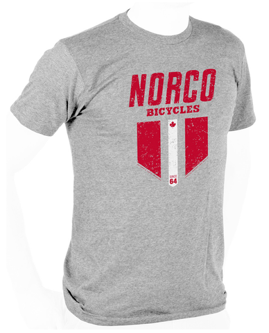 NORCO RETRO SHORT SLEEVE T-SHIRT LITE GREY