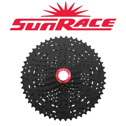 SUNRACE MZ9 12 SPEED 11-50T BLACK CASSETTE