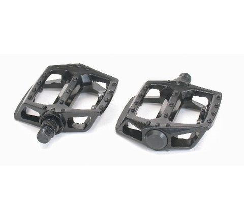 "VP-565 BMX ALLOY 9/16"" BLACK PLATFORM TYPE PEDALS"