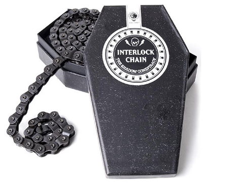THE SHADOW CONSPIRACY INTERLOCK V2 HALF LINK CHAIN BLACK