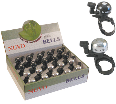 NUVO BELL ALLOY UNI FIT BLACK OR SILVER (EACH)
