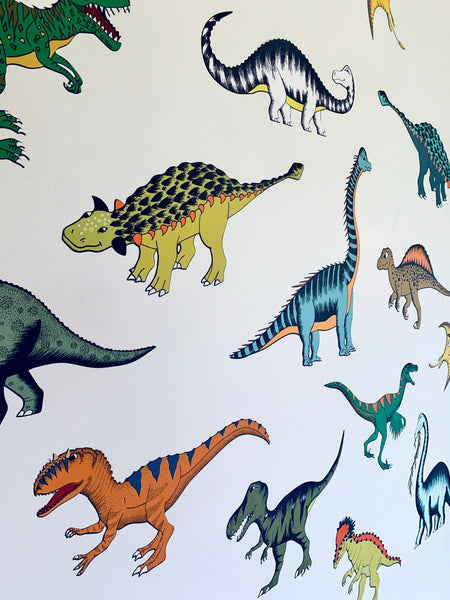 Decals - Dinosaur Mini's - 18 Pack