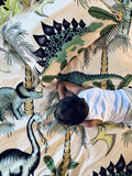 Dino Raw Bed - Single Quilt Cover - Dinosaur Dune - Cotton - Available For Pre-Order