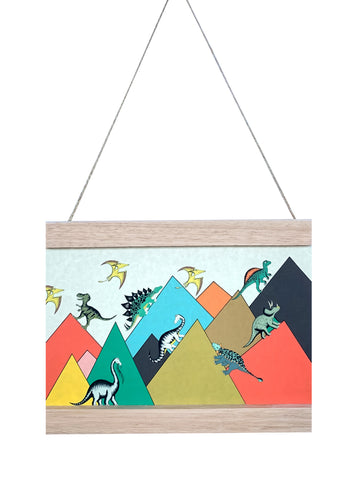 Dino Mini - Art Hanger - King Of The Mountains