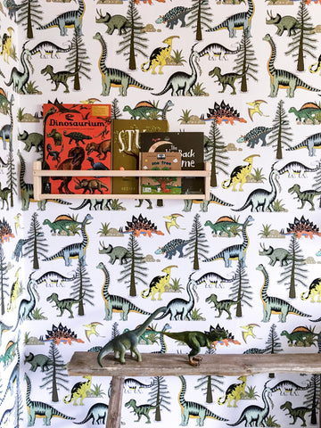 Wallpaper - Dinosaur Adventures Removable Self Adhesive Wallpaper $79 per sqm