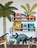 Decals - Dinosaur - Single Palm & Dinosaur Pack - Triceratops