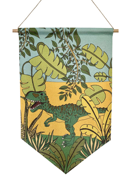 Dinosaur Banner - Jungle Adventures - Giganotosaurus