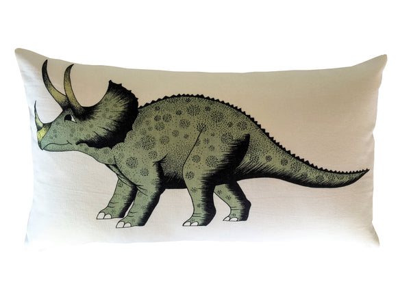 Kids Cushion Triceratops