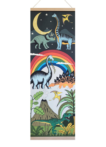 NEW! Art Hanger Large - Dino Explore / 92cm x 32cm