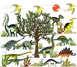 Wall Mural - Dinosaur Adventures Removable Self Adhesive Wallpaper